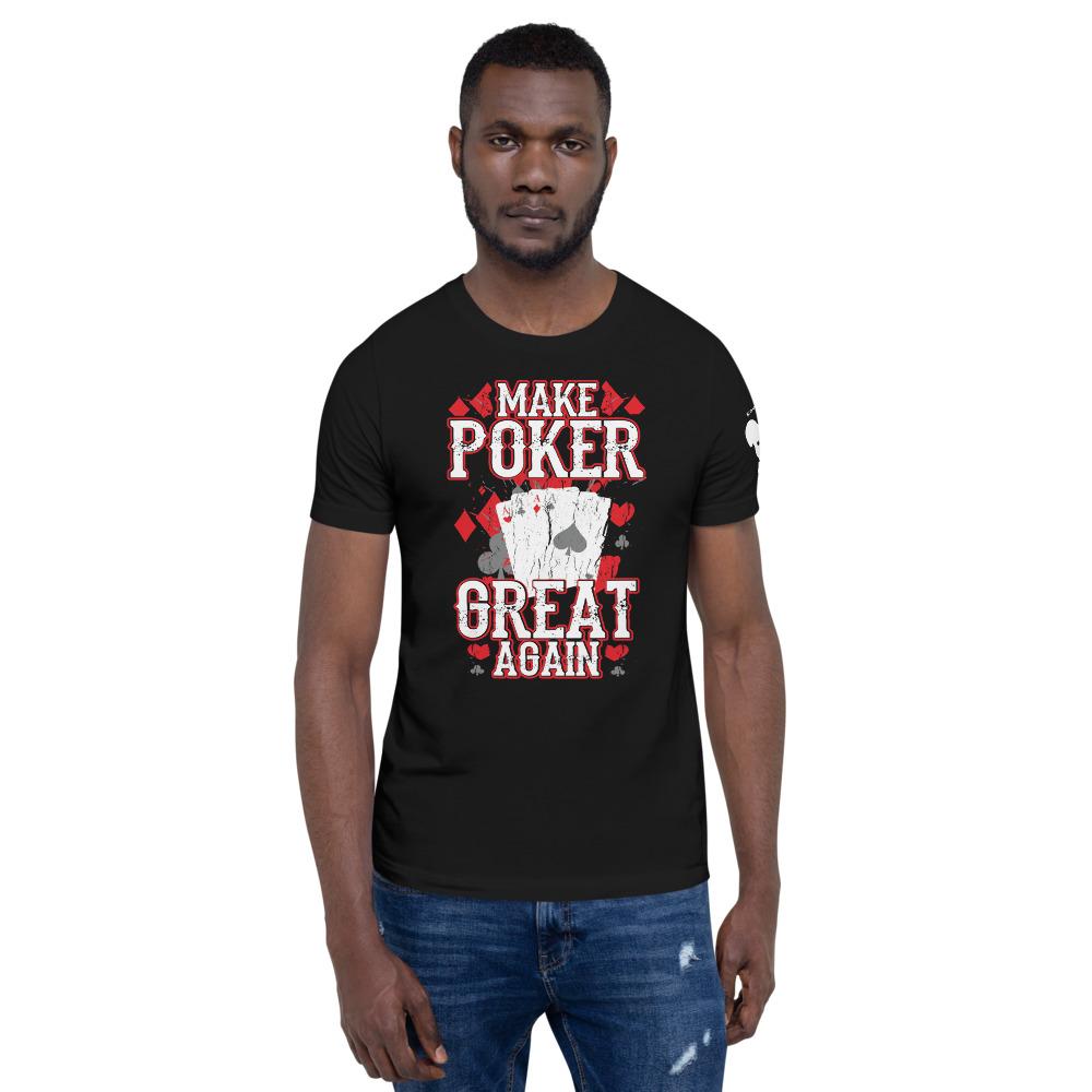 Private: Koala T. Poker – Make Poker Great Again – Men's T-shirt