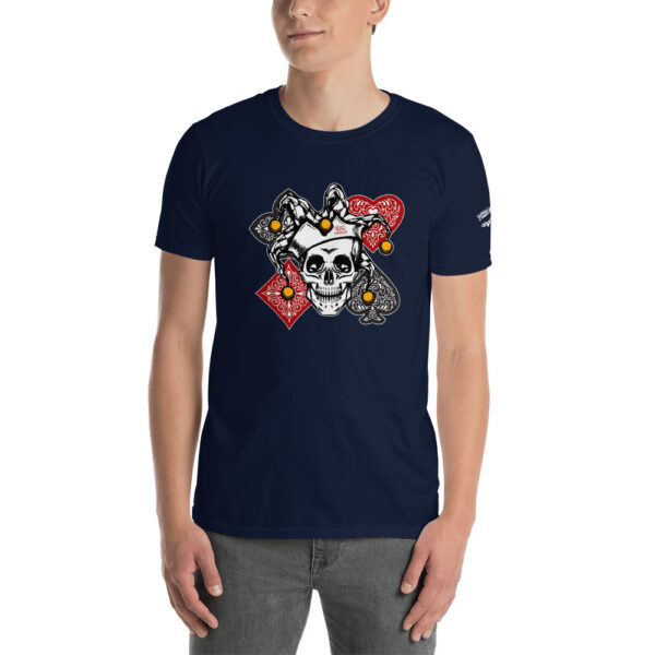 Private: Pikes Peak Poker – Poker Joker –  Men's T-shirt