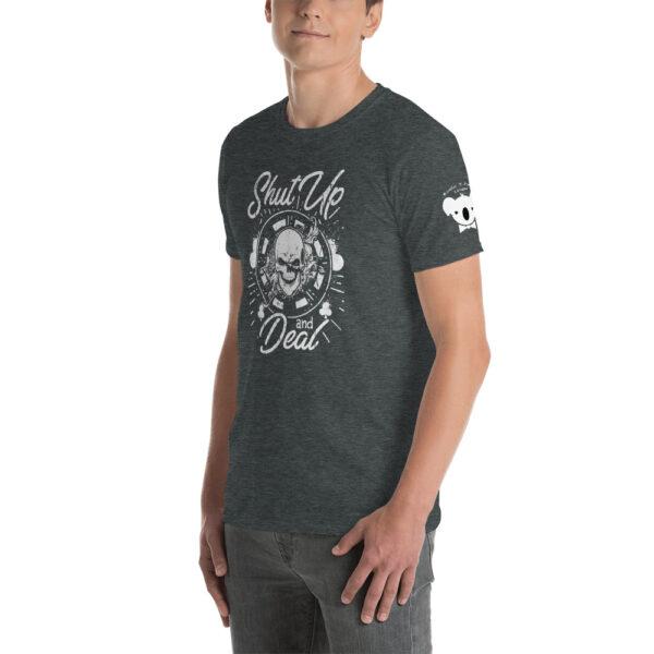 Private: Koala T. Poker – Shut Up And Deal –  Men's T-shirt